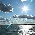 Lake St. Clair Sunset by Stephanie  Kriza