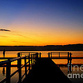 Lake Sunset by Colin Woods