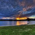Lake Sunset by Darren Burton