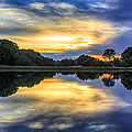Lake Sunset by Gregory Dean