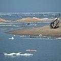Lake Superior And Ice by Linda Kerkau
