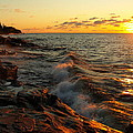 Lake Superior Dawn by Jim Peterson