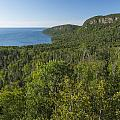 Lake Superior Grand Portage 2 by John Brueske