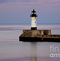 Lake Superior Lighthouse by Lori Tordsen