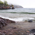 Lake Superior Tettegouche 2 by John Brueske