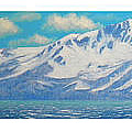 Lake Tahoe After The Storm Triptych by Frank Wilson