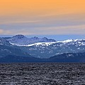 Lake Tahoe And The Sierra Nevada Mountains by Frank Wilson
