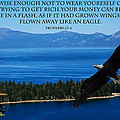 Lake Tahoe Eagle Proverbs by Randall Branham
