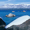 Lake Tahoe In Winter, California by Panoramic Images