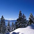 Lake Tahoe In Winter by Kathy Yates