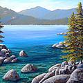 Lake Tahoe Inlet by Frank Wilson