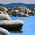 Lake Tahoe Rocky Cove by Frank Wilson