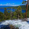Lake Tahoe Waterfall by Tim G Ross