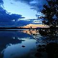 Lake Umbagog Sunset  by Neal Eslinger