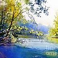 Lake View 2  by Celine  K Yong