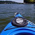Lake View From Kayak by Susan Garren