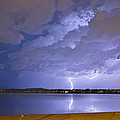 Lake View Lightning Thunderstorm by James BO  Insogna