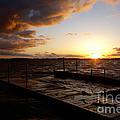 Lake Waconia Sunset by Jacqueline Athmann