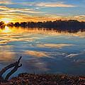 Memorial Park Sunset by Dale Kauzlaric