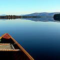 Lake Winnepasaukee Canoe by Skip Willits
