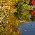 Lake Winona Autumn 13 by John Brueske