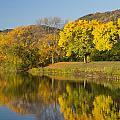 Lake Winona Autumn 8 by John Brueske