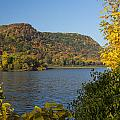 Lake Winona Autumn 9 by John Brueske