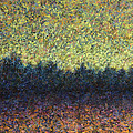 Lakeshore Sunset by James W Johnson