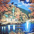 Lakeside Cabin by Lisa Haltiwanger