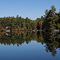 Lakeside Cottage Living - Reflecting On Relaxation by Georgia Mizuleva