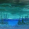 Lakeside Dusk No. 2 by Desmond Raymond