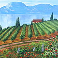 Lakeside Vineyard by Alicia Fowler