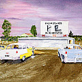 Lakevue Drive In Theater by Rich Stedman
