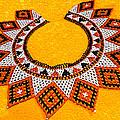 Lakota Souix Dance Collar by Bob and Nadine Johnston