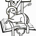 Lamb And Book by Daniel P Cronin