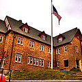 Lambda Chi Alpha Fraternity On The Wsu Campus by David Patterson