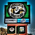 Lambeau Field Entrance by Tommy Anderson