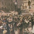 Lambeth Market by Godefroy Durand