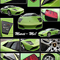 Lambo - Murci-me - Poster by Gary Gingrich Galleries