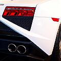 Lamborghini Gallardo Tail Light Pipes by Rospotte Photography