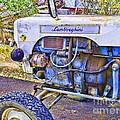 Lamborghini Classic Tractor by Gillian Singleton