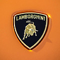 Lamborghini Emblem -0525c55 by Jill Reger