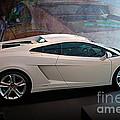 Lamborghini Gallardo Lp550-2 Side View by Stuart Row