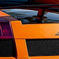 Lamborghini Rear View 2 by Jill Reger