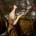Lamia  by John Waterhouse -