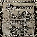 Lamont Grand Vin De Bordeaux  by Jon Neidert