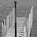 Lamp And Pier by Caroline Stella