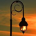 Lamp Post Glow by Christine Dekkers