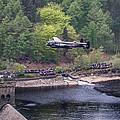 Lancaster Bomber 70th Anniversary Flypast by Ken Brannen