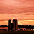 Lancaster Pa Sunset by Tom Gari Gallery-Three-Photography
